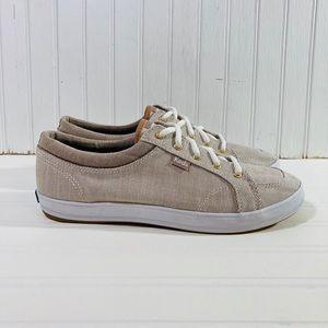 Keds Center Sneaker Women's Sz 8 Walnut Stripe